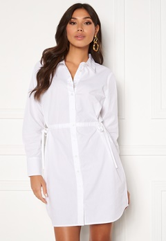 BUBBLEROOM Lorina shirt dress White Bubbleroom.se