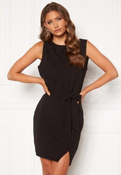 BUBBLEROOM Lorna short sleeve dress Black Bubbleroom.se