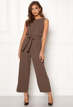 BUBBLEROOM Lotta jumpsuit Light brown Bubbleroom.se