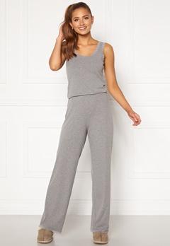 BUBBLEROOM Lou lace pyjama set  Grey melange Bubbleroom.se