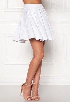 BUBBLEROOM Luster skirt White Bubbleroom.no