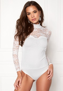 BUBBLEROOM Luxure lace body White Bubbleroom.fi