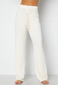 BUBBLEROOM Lynne soft pyjama pants  Offwhite bubbleroom.se