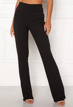 BUBBLEROOM Marianna comfy suit trousers Black Bubbleroom.se