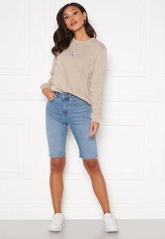 BUBBLEROOM Marnie denim shorts Light denim Bubbleroom.se