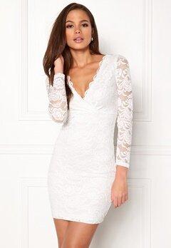 BUBBLEROOM Martha lace dress White Bubbleroom.se