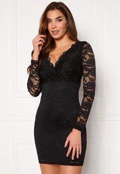 BUBBLEROOM Martha lace dress Black Bubbleroom.se
