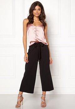 BUBBLEROOM Melina trousers Black Bubbleroom.se