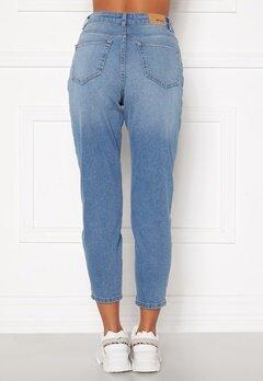 BUBBLEROOM Melinda mom jeans  Light denim Bubbleroom.se