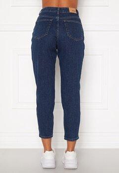 BUBBLEROOM Melinda mom jeans  Dark denim Bubbleroom.se