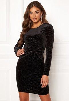 BUBBLEROOM Mila sparkling dress Black / Silver Bubbleroom.se