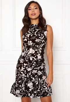 BUBBLEROOM Minelle dress Black / Patterned Bubbleroom.se