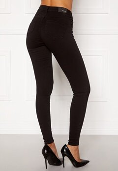 BUBBLEROOM Miranda Push-up jeans Black Bubbleroom.se