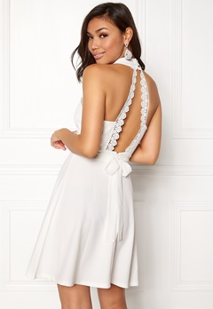 BUBBLEROOM Moa dress White Bubbleroom.se