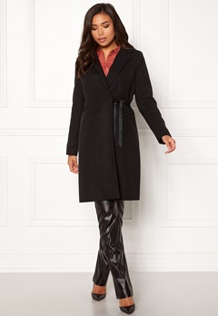 BUBBLEROOM Molly classic coat Black Bubbleroom.se