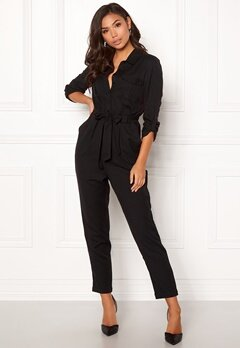 BUBBLEROOM Molly jumpsuit Black Bubbleroom.se