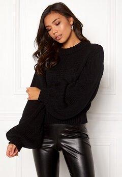 BUBBLEROOM Molly knitted sweater Black Bubbleroom.eu
