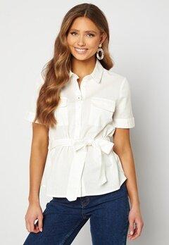 BUBBLEROOM Mya shirt blouse Offwhite Bubbleroom.se