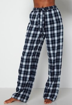 BUBBLEROOM Naya flannel pants Blue / White / Checked bubbleroom.se