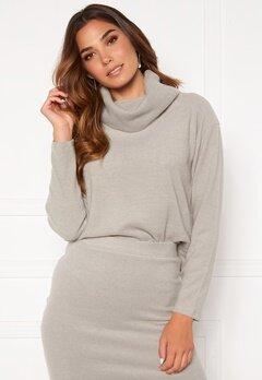 BUBBLEROOM Nelima knitted sweater Grey Bubbleroom.se