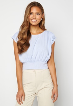 BUBBLEROOM Nicolina tie top Light blue Bubbleroom.se