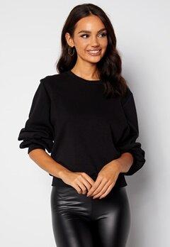 BUBBLEROOM Nilea sweatshirt  Black bubbleroom.se