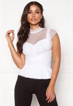 BUBBLEROOM Nilla blouse White Bubbleroom.se