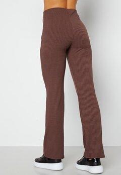 BUBBLEROOM Nola rib trousers Dark brown bubbleroom.se