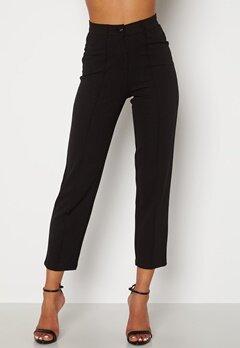 BUBBLEROOM Peyton soft suit trousers Black Bubbleroom.se