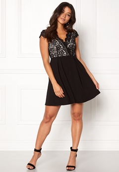 Make Way Rachel lace dress Black / Beige Bubbleroom.se