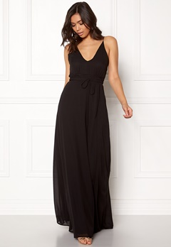 BUBBLEROOM Rosemary maxi dress Black Bubbleroom.fi