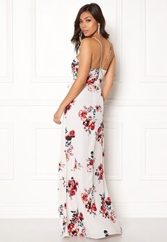 BUBBLEROOM Rosemary maxi dress White / Patterned / Floral Bubbleroom.se