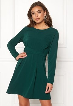BUBBLEROOM Rosie dress Dark green Bubbleroom.se