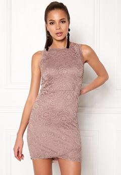 BUBBLEROOM Salma Lace Dress Dusty lilac Bubbleroom.dk