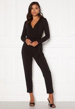 BUBBLEROOM Sasha jumpsuit Black Bubbleroom.se