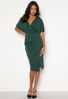 BUBBLEROOM Selena dress Dark green Bubbleroom.se