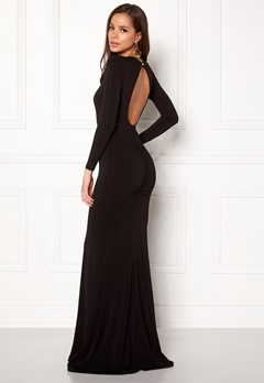 BUBBLEROOM Skye maxi dress Black Bubbleroom.se