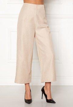 BUBBLEROOM Sofi culotte trousers Beige Bubbleroom.se