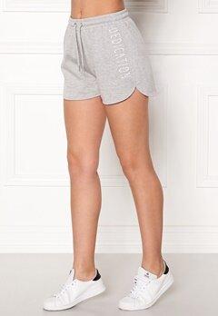 BUBBLEROOM SPORT Balance shorts Grey melange Bubbleroom.fi