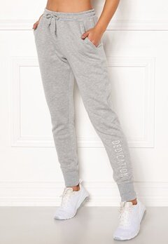 BUBBLEROOM SPORT Balance sweat pants Grey melange Bubbleroom.se