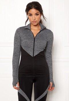 BUBBLEROOM SPORT Burpees then slurpees sport jacket Black / Grey Bubbleroom.se