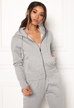 BUBBLEROOM SPORT Divine hoodie Grey melange Bubbleroom.se