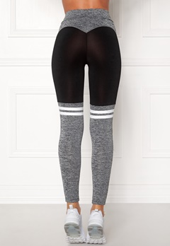 BUBBLEROOM SPORT Excite Sport Tights Black / Grey Bubbleroom.eu