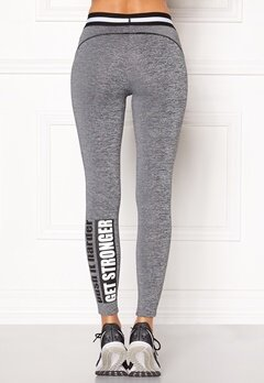 BUBBLEROOM SPORT Lunges train tights Dark grey melange Bubbleroom.eu