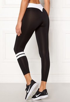 BUBBLEROOM SPORT Move it sport tights Black / White Bubbleroom.se