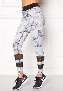 BUBBLEROOM SPORT Move sport tights Grey-black Bubbleroom.eu