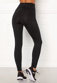 BUBBLEROOM SPORT Sculpture High waist Sport tights Black Bubbleroom.se