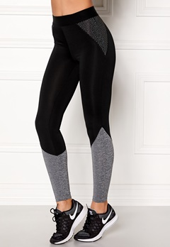 BUBBLEROOM SPORT Strongest sport tights Black / Dark grey Bubbleroom.se