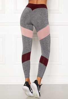 BUBBLEROOM SPORT Winners sport tights Dark grey melange Bubbleroom.se