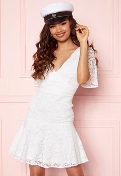BUBBLEROOM Starla Lace Dress White Bubbleroom.se